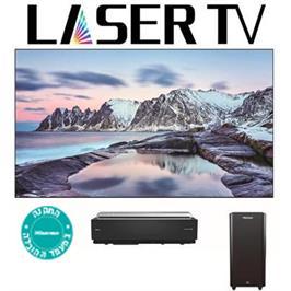 "מסך ""100 Laser 4K SMART TV תוצרת Hisense דגם 100LN60DIL"