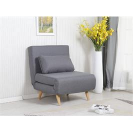 כורסא בריפוד בד נפתחת למיטה מבית HOME DECOR דגם ניקי 80