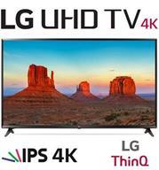 """טלויזיה חכמה """"49 LED 4K Smart TV עם פאנל IPS, אינדקס עיבוד תמונה תוצרת LG דגם 49UK6300Y"""