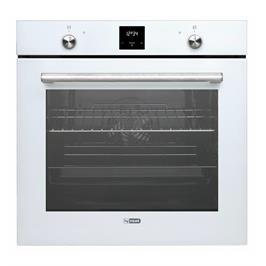 תנור אפייה בנוי תא אפייה ענק 78 ליטר 9 תוכניות בגימור זכוכית לבנה תוצרת LY VENT דגם OV-V-785