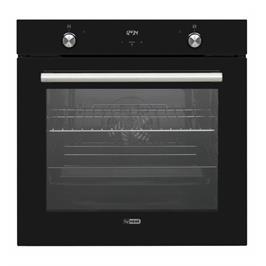 תנור אפייה בנוי תא אפייה ענק 78 ליטר 9 תוכניות בגימור זכוכית שחורה תוצרת LY VENT דגם OV-V-785