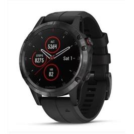 שעון ספורט חכם מבית GARMIN דגם fenix 5 Plus Sapphire Black with Black Band