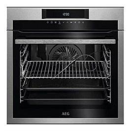 תנור אפיה בנוי 71 ליטר עם טורבו אקטיבי SenseCook™ תוצרת AEG דגם BEE264232M