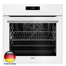 תנור אפיה בנוי 71 ליטר עם טורבו אקטיבי SenseCook™ תוצרת AEG דגם BEE264232W
