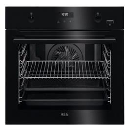 תנור אפיה בנוי פירוליטי 71 ליטר טורבו אקטיבי SteamBake™ PYROLUXE® PLUS תוצרת AEG דגם BPE255632B