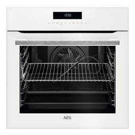 תנור אפיה בנוי פירוליטי 71 ליטר טורבו אקטיבי SenseCook™ PYROLUXE® PLUS תוצרת AEG דגם BPE264232W