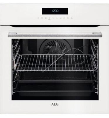 תנור אפיה בנוי פירוליטי 71 ליטר טורבו אקטיבי SenseCook™ PYROLUXE® PLUS תוצרת AEG דגם BPK264232W