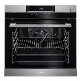 תנור אפיה בנוי 71 ליטר טורבו אקטיבי SteamCrisp™ Steam Clean תוצרת AEG דגם BSK277232M