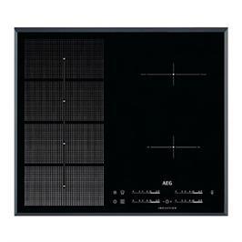 """כיריים אינדוקציה 60 ס""""מ  MaxiSense Plus עם 2 איזורי בישול גמישים תוצרת AEG דגם HKP65410FB"""