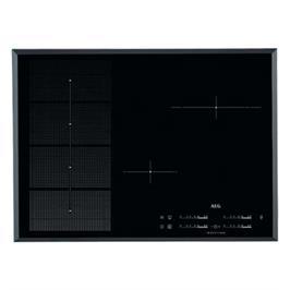 """כיריים אינדוקציה 70 ס""""מ MaxiSense Plus עם 2 איזורי בישול גמישים תוצרת AEG דגם HKP75410FB"""