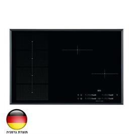 """כיריים אינדוקציה 80 ס""""מ MaxiSense Plus עם 2 איזורי בישול גמישים תוצרת AEG דגם HKP85410FB"""
