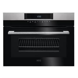 תנור רב-תכליתי עם טורבו אקטיבי משולב מיקרוגל תוצרת AEG דגם KMK761000M