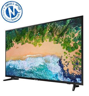 """טלויזיה """"75 4K FLAT Premium Slim SMART TV תוצרת SAMSUNG. דגם 75NU7100"""