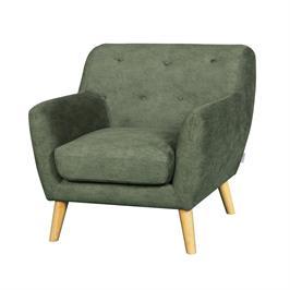 כורסא מעוצבת בעיצוב רטרו עם ריפוד בד רחיץ HOME DECOR דגם אליס