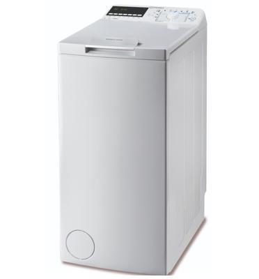 """מכונת כביסה פתח עליון 7 ק""""ג 1,200 סל""""ד תוצרת INDESIT דגם BTWE71253P"""