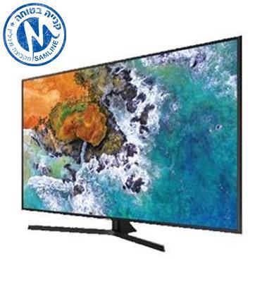 """טלויזיה """"55 4K FLAT Premium Slim SMART TV תוצרת SAMSUNG. דגם 55NU7400"""