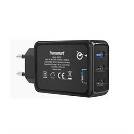 מטען קיר מהיר בתקן QUALCOMM QUICK CHARGE 3.0 תוצרת TRONSMART דגם MAT-W3PTA