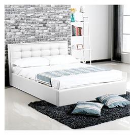 מיטה אלגנטית עם ארגז מצעים מרווח וקל לתפעול מבית Vitorio Divani דגם אלסינה 120*190