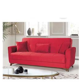 ספה תלת מושבית נפתחת למיטה גדולה כוללת ארגז מצעים ומרופדת בבד איכותי מבית Or-Design דגם מלודי