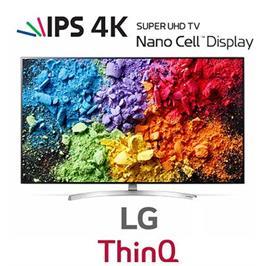 טלוויזיית 65 אינץ' LED חכמה Smart TV ברזולוציית 4K Ultra HD מבית LG. דגם 65SK8000P