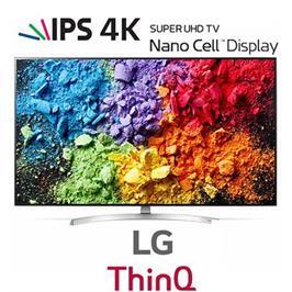 """טלוויזית 55"""" LED SMART TV ULTRA HD רזלוצית 4K פאנל IPS תמונה עוצרת נשימה מבית LG דגם 55SK8500Y"""