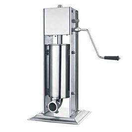 מכונה ידנית איכותית להכנת נקניקיות ביתיות מכונה מסיבית עשויה מנירוסטה מיכל 3 ק תוצרת DCHEF