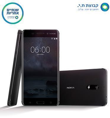 """סמארטפון 5.5"""" 3GB מצלמה 16MP מערכת הפעלה Android מבית NOKIA דגם Nokia 6"""