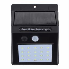 תאורת לד COB סולארית עוצמתית עם חיישן תנועה מובנה מבית HOMAX דגם סטינג