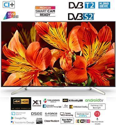 """טלוויזיה """"55 4K בעיצוב SLICE OF LIVING  Android TV תוצרת SONY דגם KD-55XF8596BAEP"""