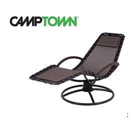 כסא נדנדה קפיץ צבע שחור מבית CAMPTOWN  דגם 39096 / PATRAS