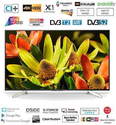 """טלוויזיית """"70 LED עיצוב Slice of living רזולוציית 4K Android TV תוצרת SONY. דגם KD70XF8305BAEP"""