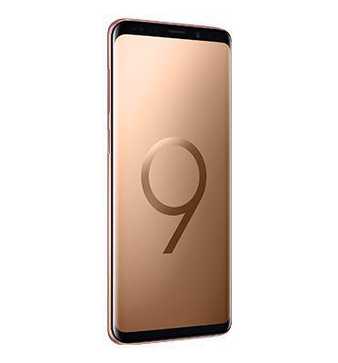 """סמארטפון 6.2"""" 64GB תוצרת SAMSUNG דגם Galaxy S9 PLUS צבע זהב"""