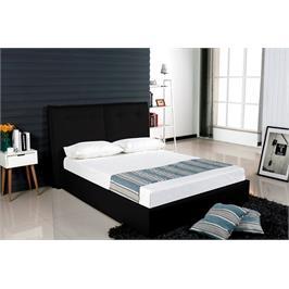 מיטה זוגית  140*190 אלגנטית עם ארגז מצעים מרווח וקל לתפעול מבית Vitorio Divani דגם ג'ולי