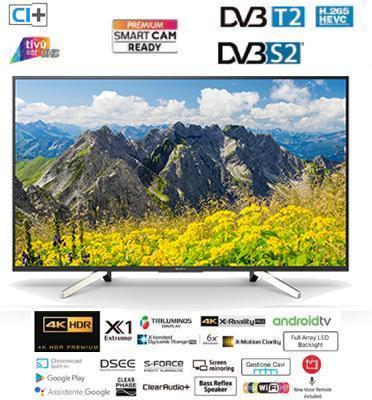 """טלוויזיה 43"""" 4K ANDROID TV בעיצוב SLICE OF LIVING  תוצרת SONY דגם KD-43XF7596BAEP"""
