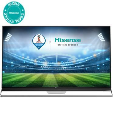 """טלוויזיה """"75 ULED SMART TV 4K Ultra HD תוצרת Hisense דגם H75U9AIL"""