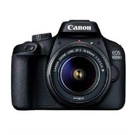 מצלמה רפלקס DSLR כולל 2 עדשות 18-55 + 75-300 EU26 תוצרת CANON דגם EOS 4000D  אחריות יבואן רשמי!