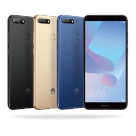 """סמארטפון מסך 5.7"""" 32GB מצלמה אחורית 13MP תוצרת HUAWEI דגם Y6 PRIME 2018"""