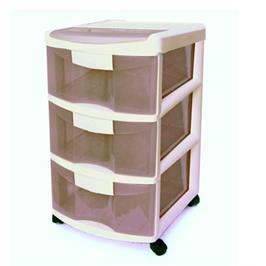 """ארגונית 3 מגירות האידיאלית לשימוש בבית וגם במשרד מבית כתר פלסטיק בע""""מ"""