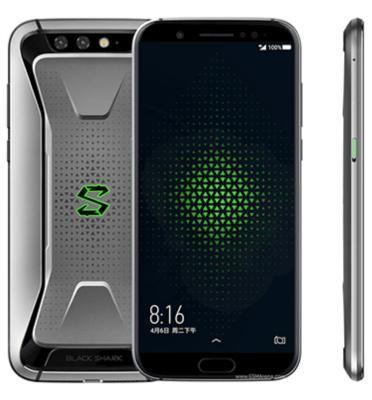 """סמארטפון 5.99"""" 128GB מצלמה כפולה 12MP+20MP תוצרת Xiaomi דגם Black Shark 128GB"""