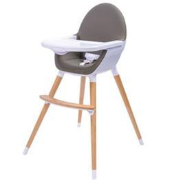 כסא אוכל מעץ ייחודי מעוצב ויוקרתי מבית BABYSAFE דגם UNO