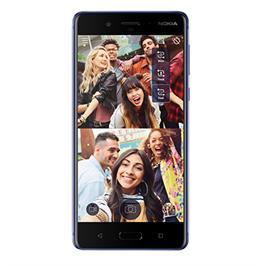 """סמארטפון 5.3"""" 64GB מצלמה אחורית 13MP מבית NOKIA דגם NOKIA 8"""
