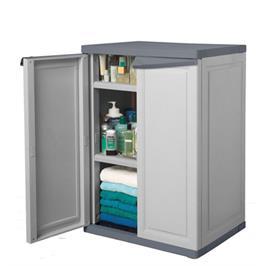 """ארון שירות קומפקטי מתאים למגוון שימושים בבית מבית כתר פלסטיק בע""""מ דגם 6291"""