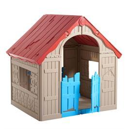 בית משחק מתקפל ופרקטי בטכנולוגיה פורצת דרך מבית כתר פלסטיק דגם Folding Playhouse