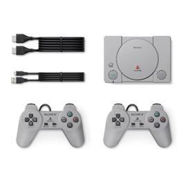 קונסולת הפלייסטיישן המקורית רטרו PlayStation Classic כולל 2 בקרים חוטיים דגם SCPH-1000R