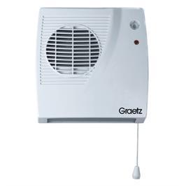 מפזר חום לאמבטיה שתי דרגות חום מבית GRAETZ דגם GR2100