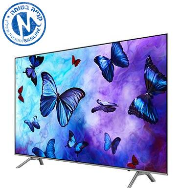 "טלוויזיה ""55 Smart TV WIFI+LAN QLED תוצרת SAMSUNG דגם QE55Q6FN"