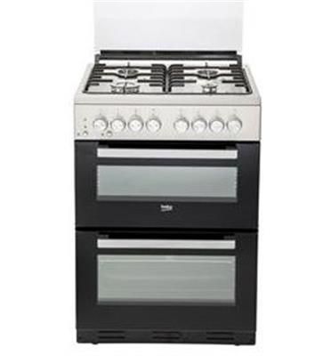 """תנור משולב דו תאי מהדרין בהשגחת הבד""""ץ העדה החרדית נירוסטה תוצרת BEKO דגם KFDM62120DXDSL"""