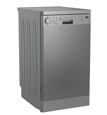 מדיח כלים צר 10 מערכות כלים 5 תוכניות הדחה מבית BEKO דגם DFS05014X