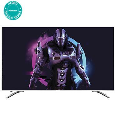 "טלוויזיה ""75 4K SMART TV  Ultra HD תוצרת Hisense. דגם H75A6500IL"