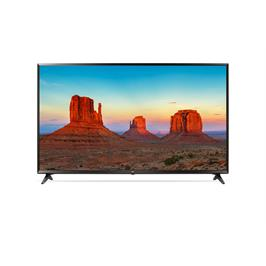 """טלויזיה חכמה """"43 LED 4K Smart TV עם פאנל IPS, אינדקס עיבוד תמונה תוצרת LG דגם 43UK6300Y"""